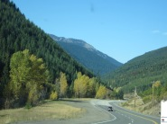 Driving to Osoyoos