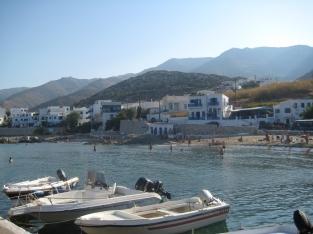Apollonas fishing village